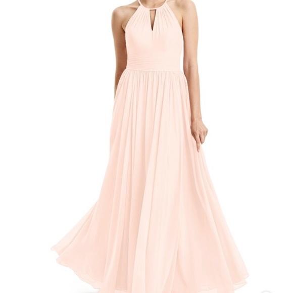 a857f66f2a8 Azazie Cherish Pearl Pink Bridesmaid Dress (A12)